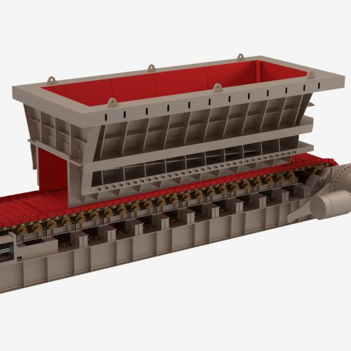Stockpile Reclaim Chute Liners
