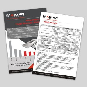 Makuri Technology Mak-Hard Forged Bimetallic Wearplate Flyer